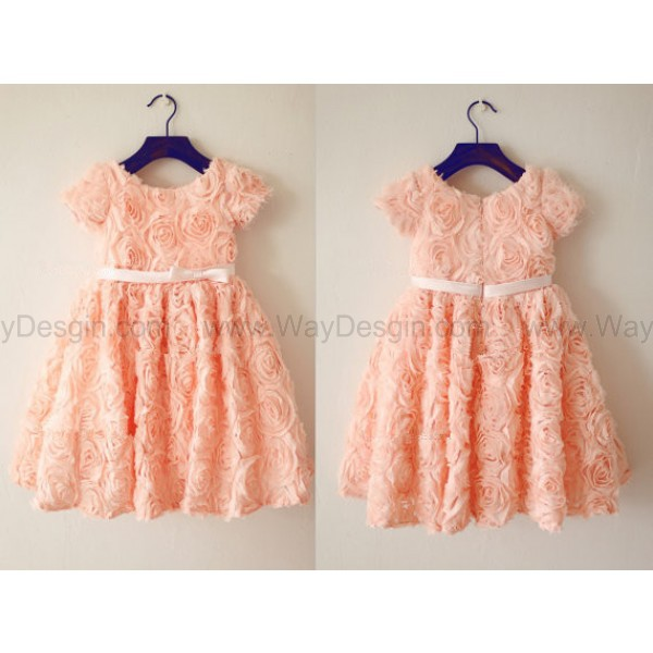 flower girl dress junior birdesmaid dress