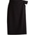 Asymmetric wool-crepe pencil skirt