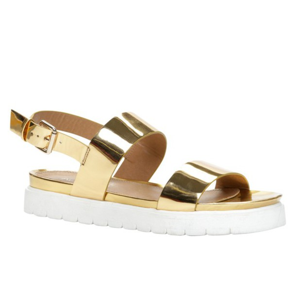 flatforms metalic shoes metallic sandals shoes gold sandals sandals