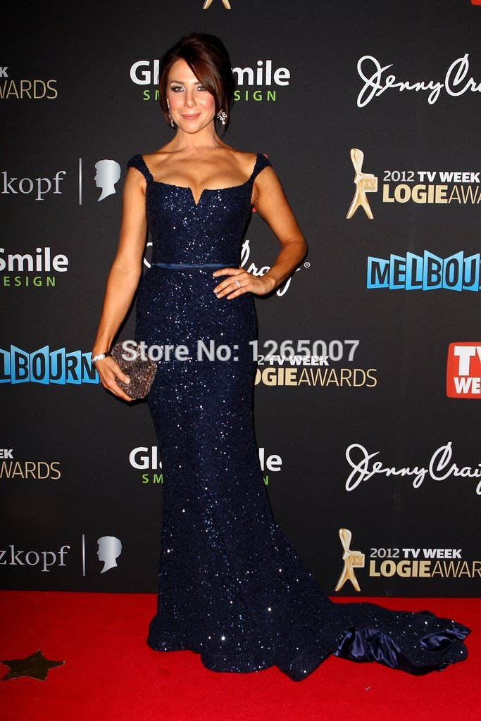 Aliexpress.com : Buy Kate Ritchie Scoop Neck Navy Sequins Shiny Mermaid Formal Backless Mermaid Celebrity Dresses Special Occasion Dress from Reliable dress classic suppliers on SFBridal