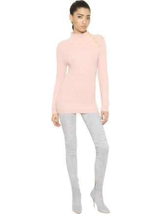 dress mini dress mini mohair pink