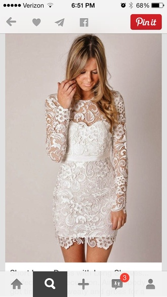 dress lace white lace dress wedding dress