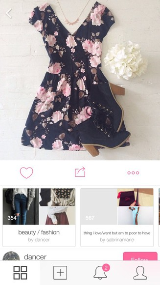 buttons casual sundress floral