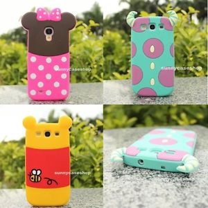 reputable site 18080 41419 Cute Disney Cartoon Minnie Soft Silicone Case Cover for Samsung Galaxy S3 4  Mini | eBay