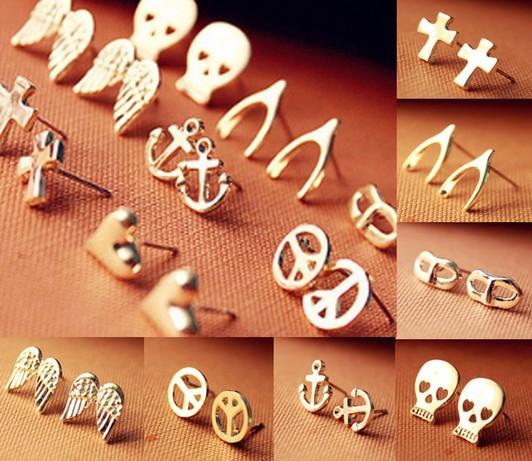 Mini stud earrings ( assorted styles)