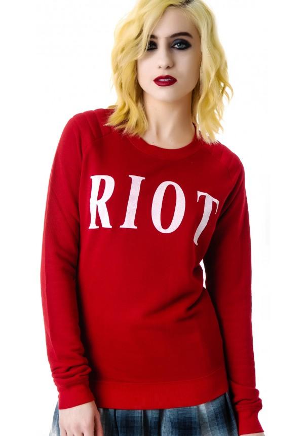 Zoe Karssen Riot Sweater | Dolls Kill
