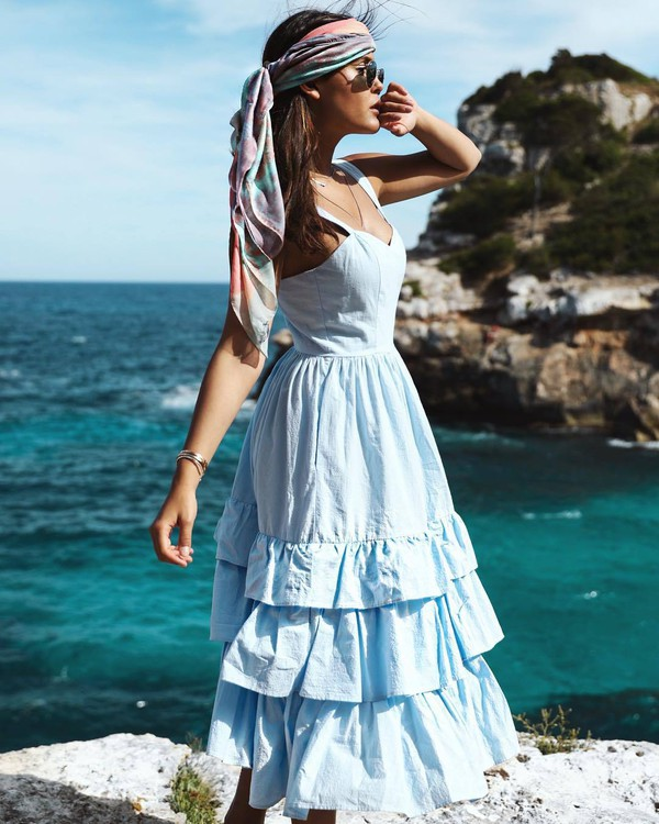 H&M Kleid aus Baumwollpopeline 59,99