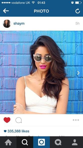 sunglasses shay mitchell shirt
