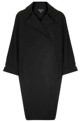 Crimped Duster Coat - Jackets & Coats - Clothing - Topshop