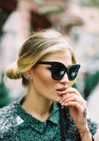 lunette de soleil sunglasses noir
