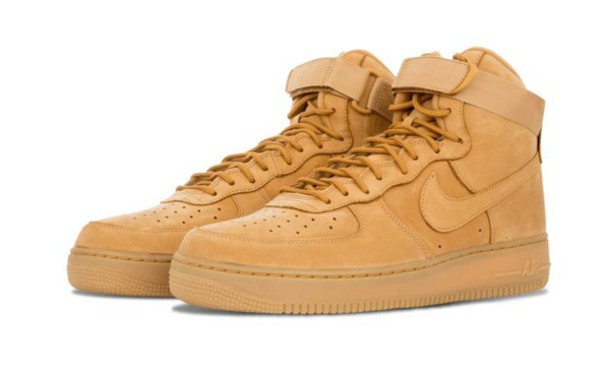 nike air force 1 tan