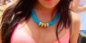 jewels,necklace,beaded,aqua blue,gold