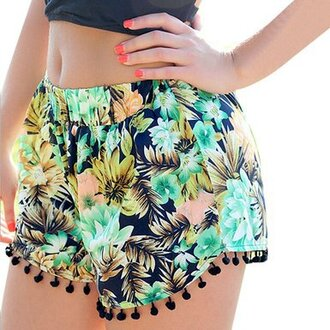 shorts tropical print shorts tropical shorts floral dress tropical