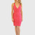 Pink Bandage Dress – Trendlee