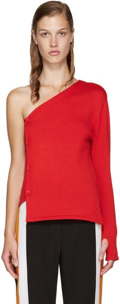cardigan cardigan red sweater