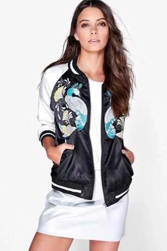 jacket bomber jacket satin bomber embroidered satin bomber jacket embroidered bomber jacket 36683