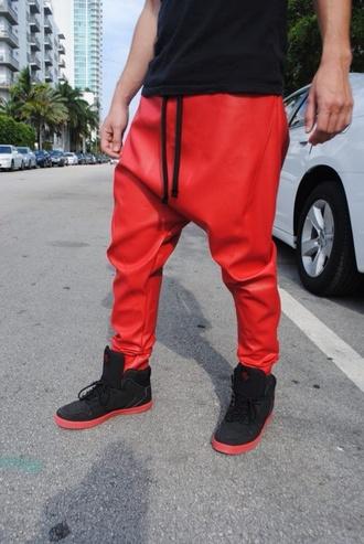 pants drop crotch pants justin bieber menswear