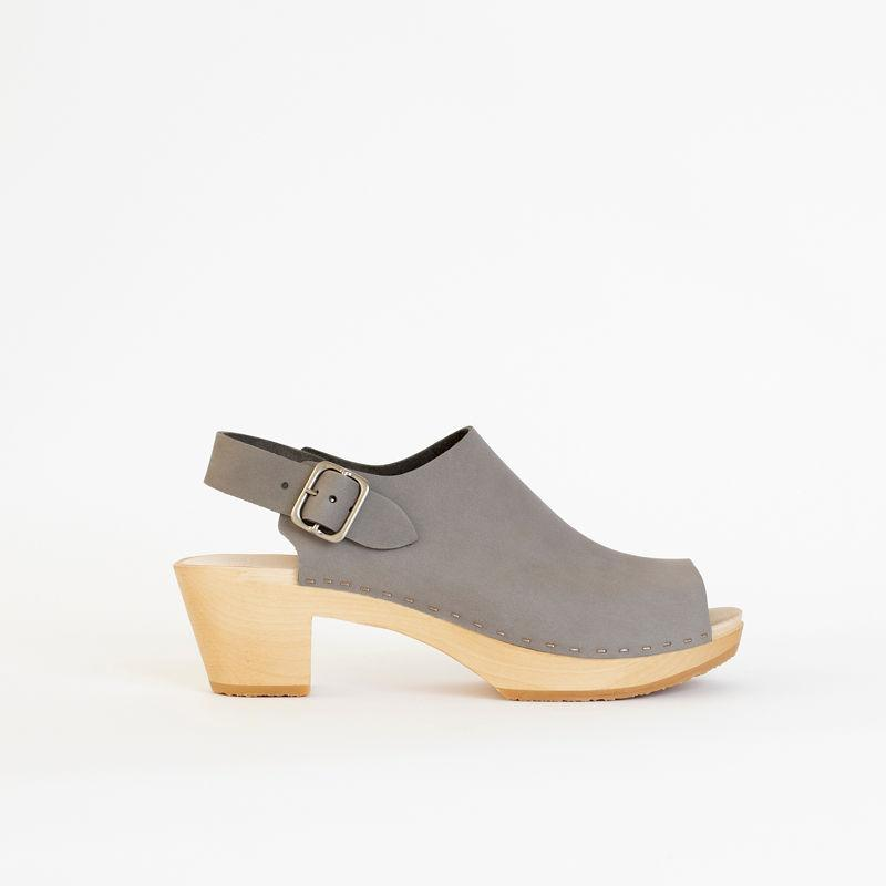 Suzie Spanish Toe Clog, Mid Heel