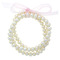Freshwater pearl 3-piece stretchy bracelet set - david's bridal