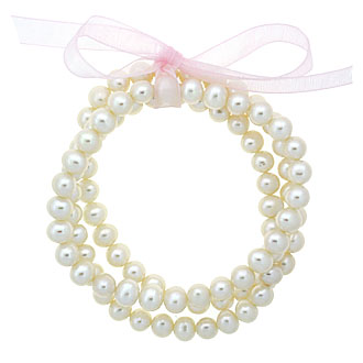 Freshwater Pearl 3-Piece Stretchy Bracelet Set - David's Bridal