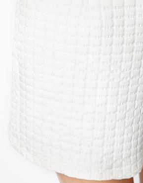 ASOS | ASOS High Waisted Shorts in Texture at ASOS