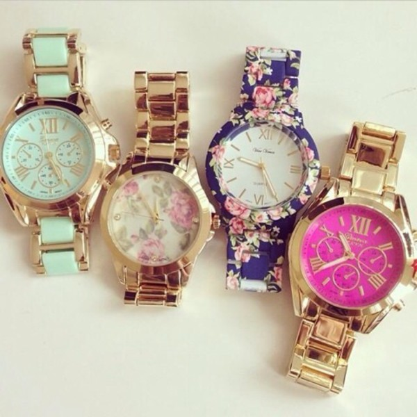 jewels turquoise watch