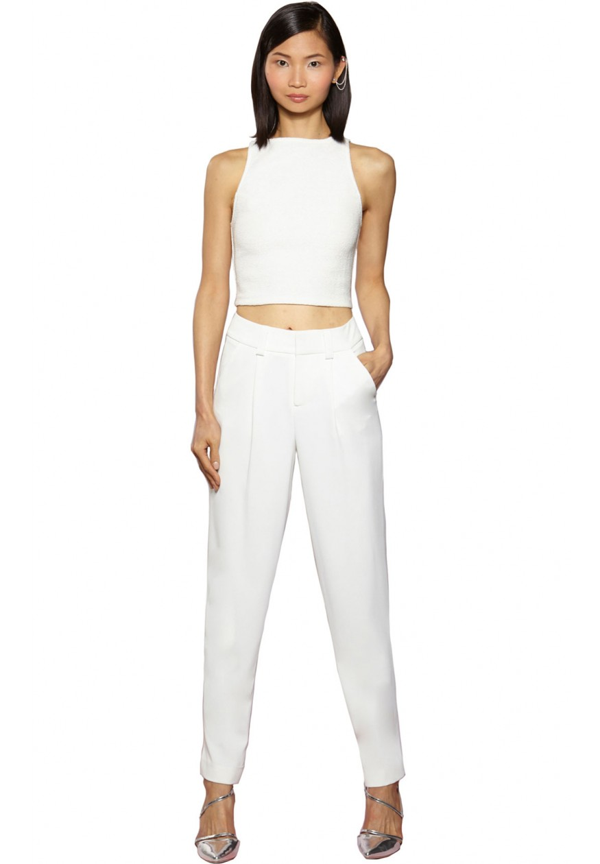 alice   olivia | ARTHUR PANT WITHOUT CUFF