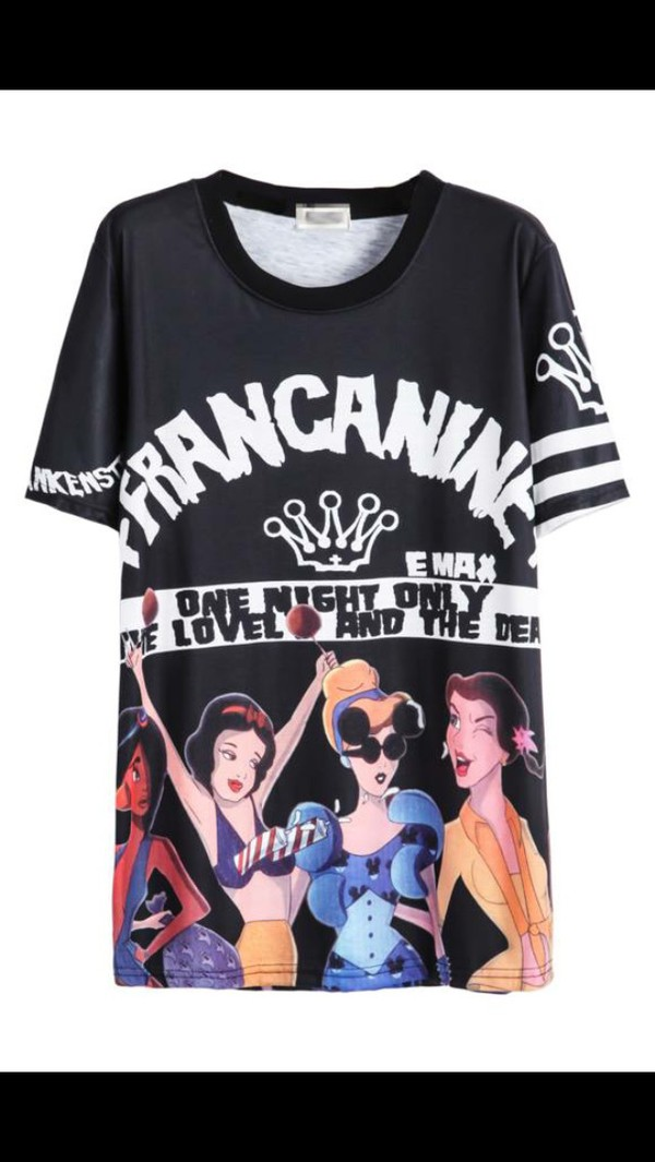 Harajuku style punk casual women clothing hot sale for Name brand t shirts on sale