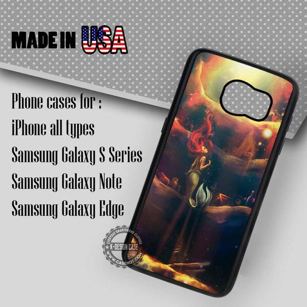 Samsung S7 Case - Mermaid Art Princess - iPhone Case #SamsungS7Case #TheLittleMermaid #yn