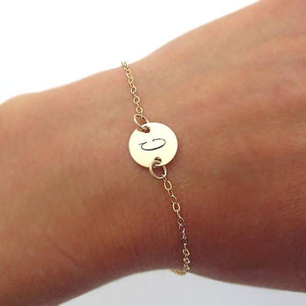 Jewels nadin art design gold filled dainty bracelets for Engravable gifts for her