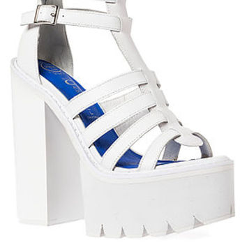 The Freema Platform in White on Wanelo
