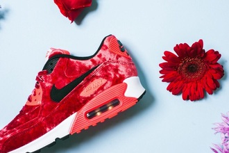 shoes air max red velvet dope velvet shoes