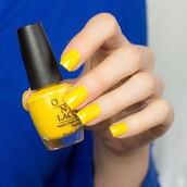 nail accessories,tumblr,nail polish,nails,yellow,opi