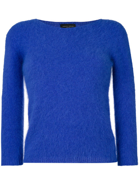 Roberto Collina top knitted top long women blue