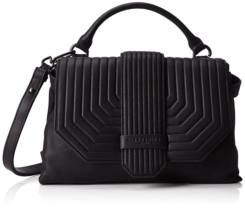 suche nach neuestem viele möglichkeiten besser Liebeskind Vintage Ube Ninja Black: Handbags: Amazon.com