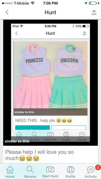 skirt both skirts and tops