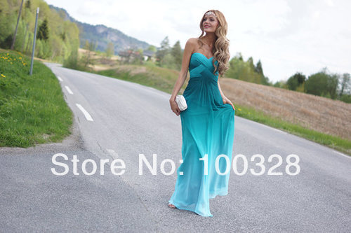 Aliexpress.com : buy 2014 new design sexy sweetheart a line floor length court train off the shoulder chiffon gradient prom dress from reliable design prompts suppliers on rose wedding dress co., ltd