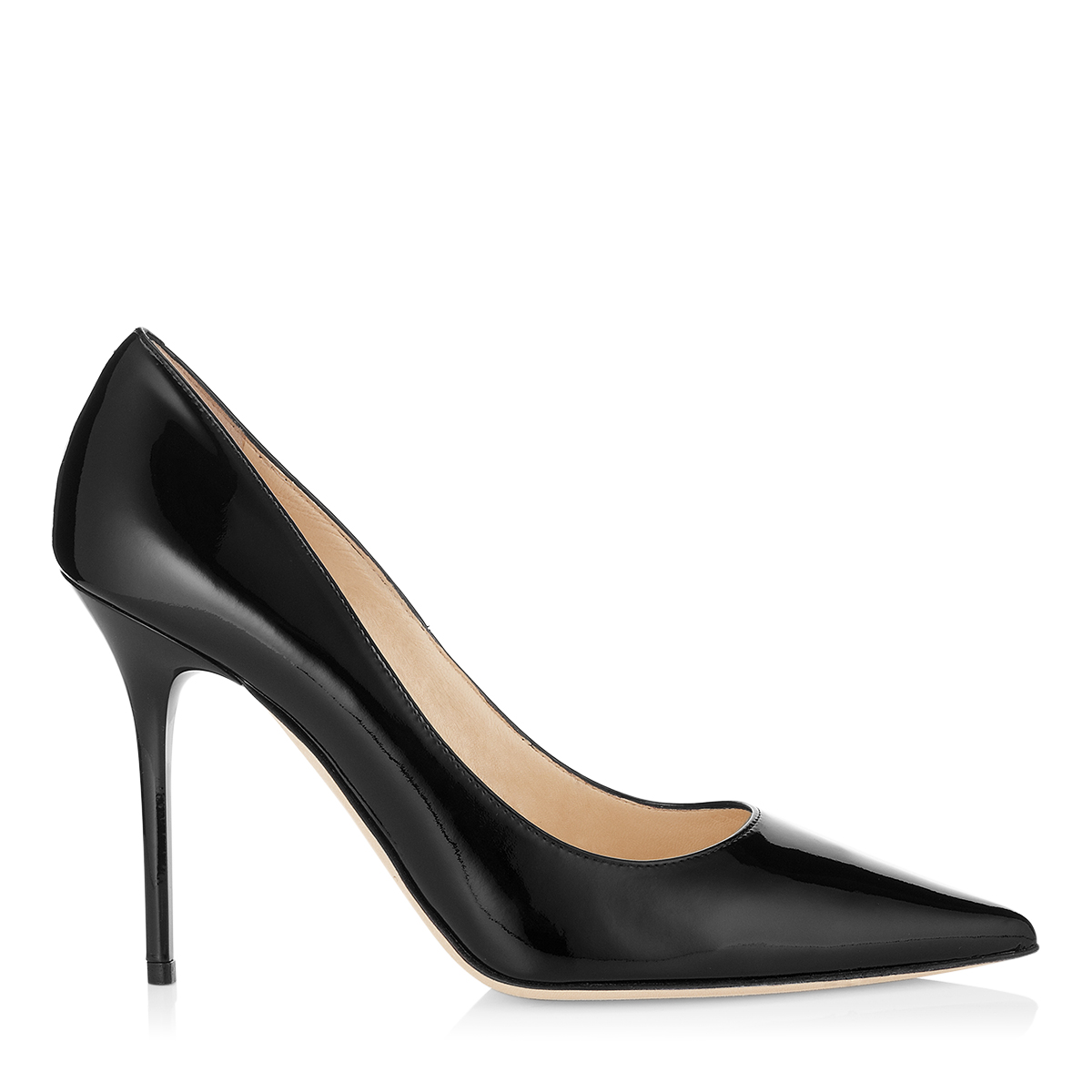 Black Suede Designer Pumps | Pointed Toe Shoes | Agnes | JIMMY CHOO Pumps