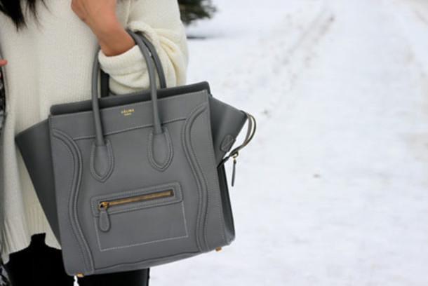 bag grey grey