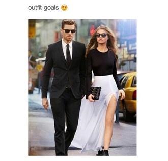 shirt white hipster fashion long long skirt sunglasses long dress