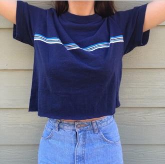 shirt blue top t-shirt