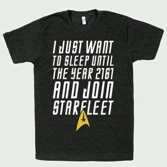 shirt sleep star trek starfleet academy quote on it whatever quote tee graphic
