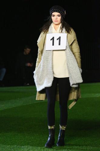 coat cardigan kendall jenner fashion fashion week 2015