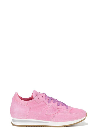 sneakers purple pink shoes