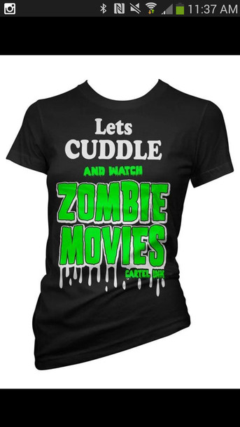shirt zombie zombie