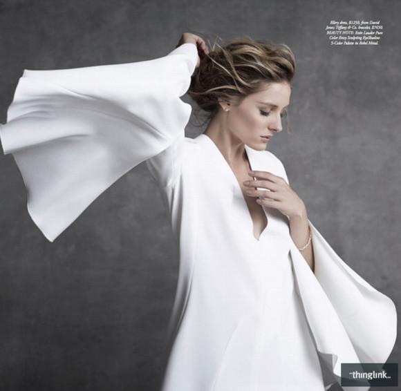 olivia palermo dress white dress