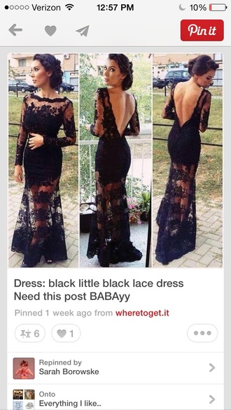 dress black lace evening dress or prom dress black formal sheer maxi lace boho amazing backless detail black dress black mermaid evening gown little black dress prom dress ig instagram lace dress longsleeved bodycon long prom dress long dress kim kardashian black lace prom dress black lace bare back dress sleeve dress boho dress hippy dress bohemian dress black lace dress black bohemian long dress long pinterest see through shirt gorgeous black lace dress skirt nail polish bag lance prom banquet gown americn hippie bohemian  style e