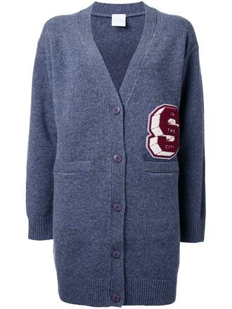 cardigan women varsity wool grey sweater