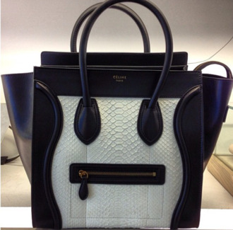 bag celine black white designer celine bag
