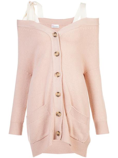 cardigan cardigan women cotton wool purple pink sweater